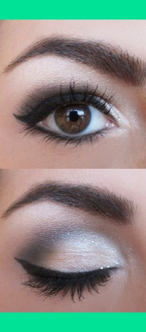 This is the PERFECT smokey eye . . . it does not take a lot of make-up. too much makes you look like you have a black eye.
