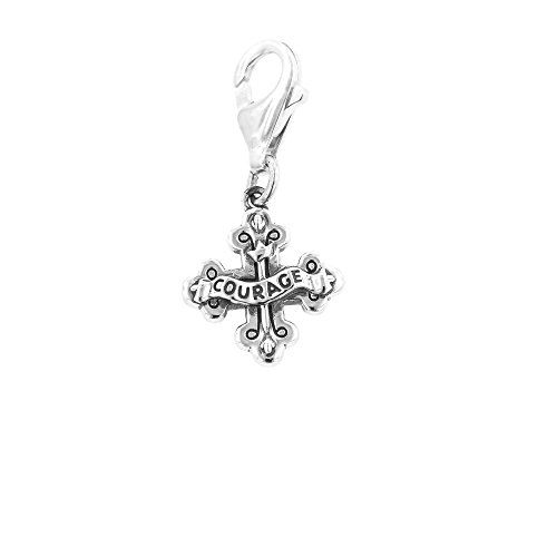4b82f924a ... best price sterling silver wizard of oz courage cross clip on charm  ritastephens www d2c6c 46fc8 shop pandora magnificent kingdom charm herz ...