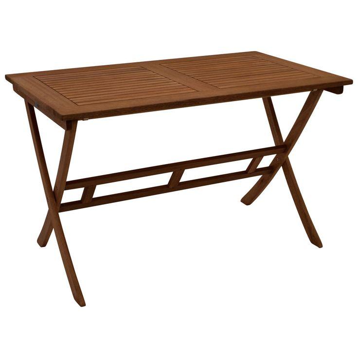 New Klapptisch Montego Gartentisch Garten Tisch Outdoor Gartenm bel Eukalyptusholz in Garten u Terrasse M bel Tische