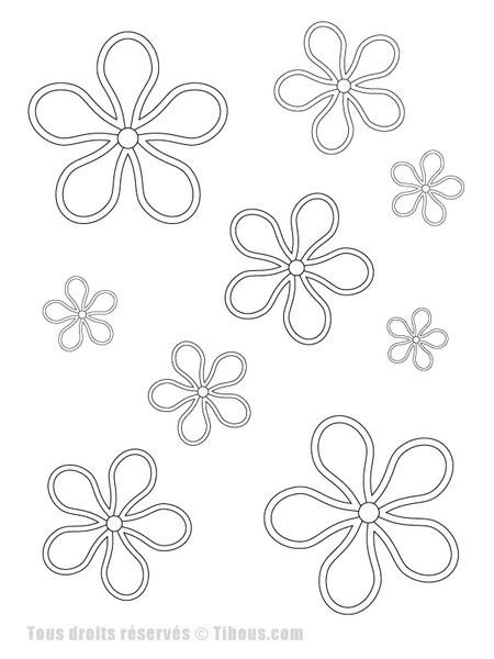 best 25 coloriage de fleur ideas on pinterest