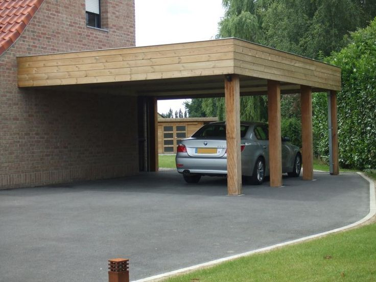 Carport Holz Gesichert Billig Carports Verkauf 2 Autos Nach Mass Anthony M Carport Bois Plan Carport Carport Bois Adosse