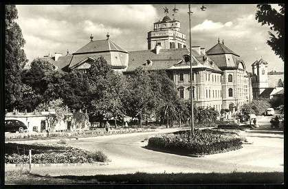 Eger; Pedagógiai Főiskola - Eszterházy tér   Képcsarnok   Hungaricana