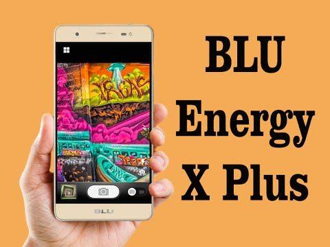 BLU Energy X Plus with 4000 mhz Powerful Battery
