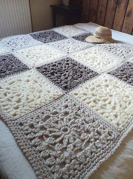 39 best crochet cuadrados images on pinterest crocheted blankets crochet blankets and crochet. Black Bedroom Furniture Sets. Home Design Ideas