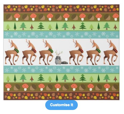 """""""The important is to believe in it"""" custom christmas wrapping paper pattern on sale in my zazzle store! www.zazzle.com/martinaterzi check it out!"""