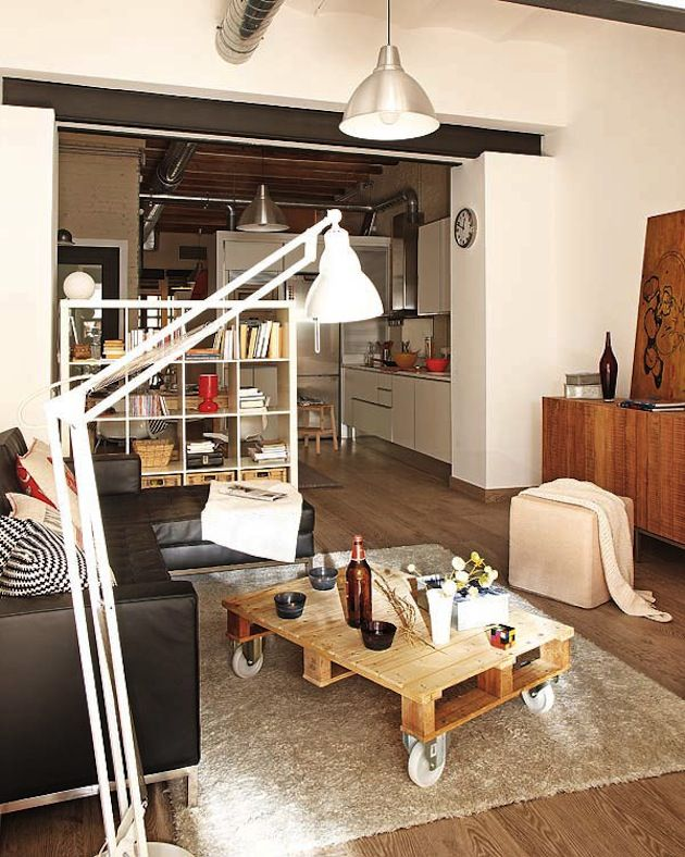 Very Small Apartment Design ideas for small apartments from compact living Rolling Coffee Table Fresh Apartment 3 30 Best Small Apartment Designs Ideas Ever Presented On Freshome