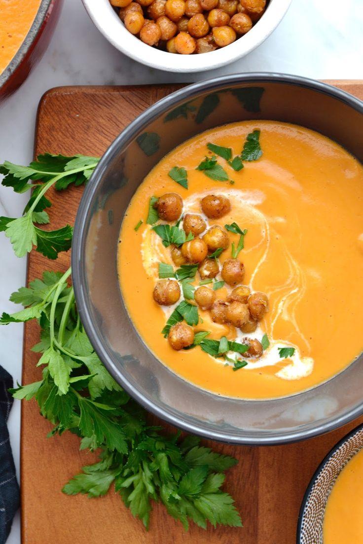 Ce n'est pas avec la météo de ces jours-ci que l'on risque d'arrêter de manger de la soupe. En tous cas pas moi. Et ce ne sont pas les id...