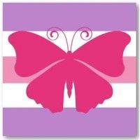 Simple Butterfly on www.tinklepea.co.za