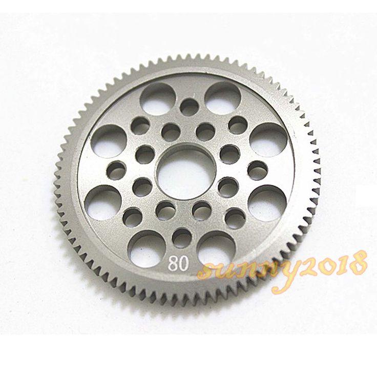 7075 металла 48 P цилиндрическое зубчатое колесо 80 т / 85 т для SAKURA D3 CS S си XIS 1/10 дрейф гоночный автомобиль