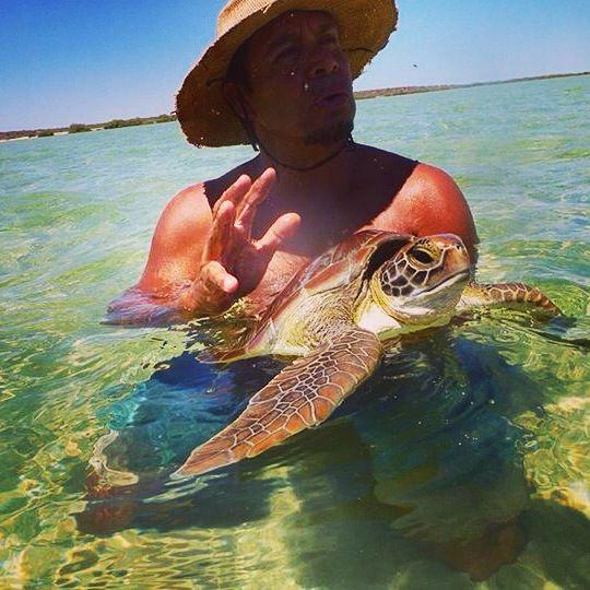 Yandani Buyungurra (hello little turtle)