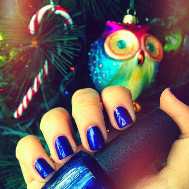 Loving this color! OPI Tomorrow Never Dies  - @thegridmonster- #webstagram