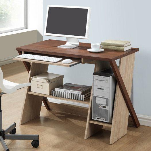 Wholesale Interiors Baxton Studio Rhombus Computer Desk
