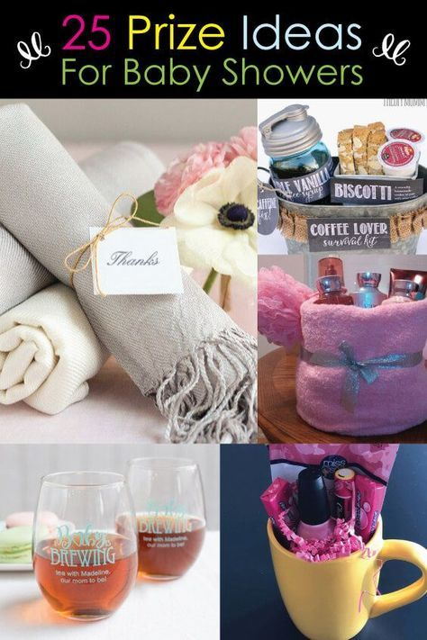 25 Popular Baby Shower Prizes – that won't get tossed in the garbage!