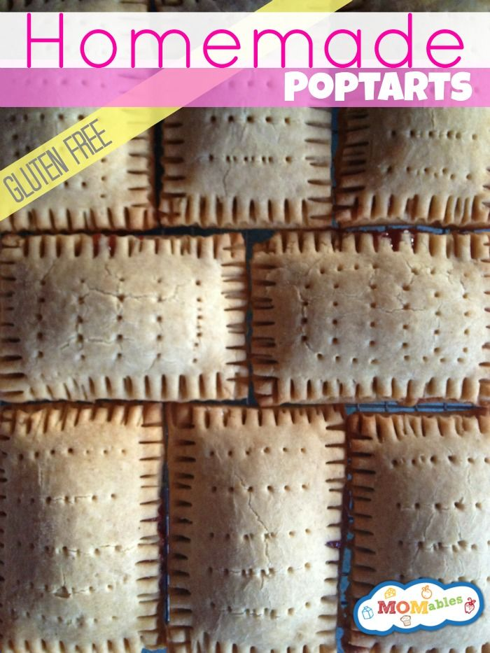 Gluten Free, Casein Free (Recipes includes way to make both dairy free and with dairy) and Egg Free Homemade Pop Tarts!