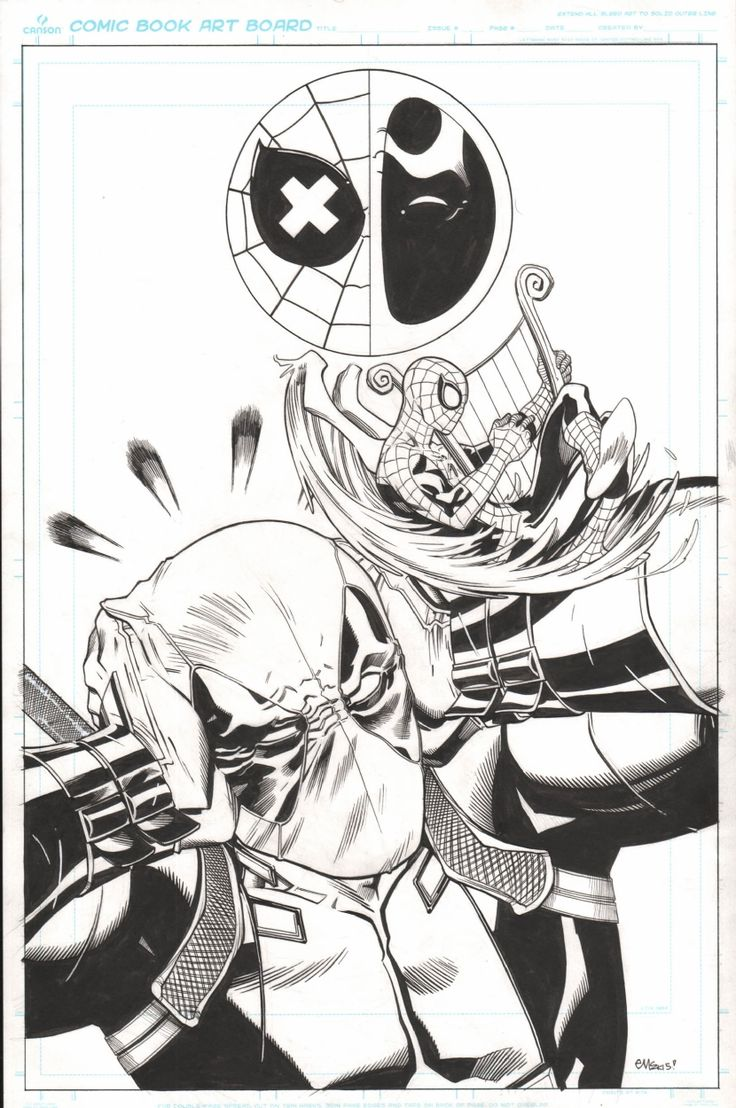 Spider-Man/Deadpool #5 cover • Ed McGuinness (penciller ...