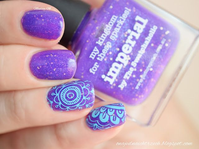 #PicturePolish #Imperial #Swatch #stamping