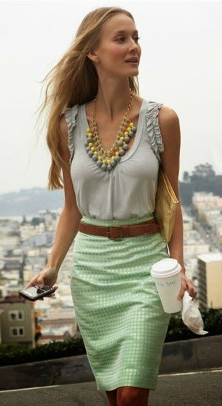 Women's Business Fashion Trend http://ilovefreshfashion.blogspot.com