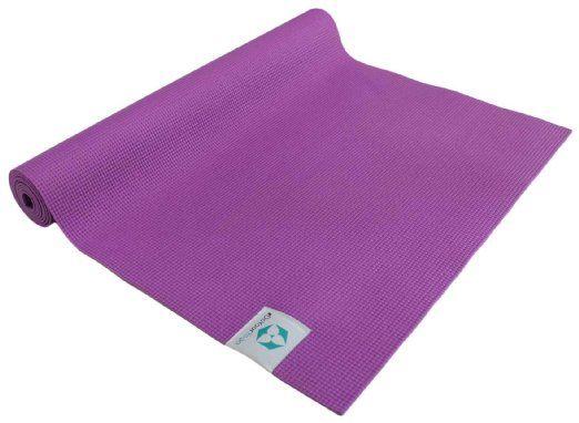 Yogamatte »Annapurna Comfort« / Die ideale Übungs-Matte für Yoga, Pilates, Gymnastik. Maße: 183 x 61 x 0,5cm, violett, 27,99 Euro