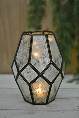 Mid-century Modern Lantern 7.25x9.75in   This site has all the lanterns!