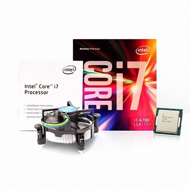 Intel Core i7-6700 6th Processor SKYLAKE 4-Core LGA 1151 3.4GHz 8M Cache CPU #Intel