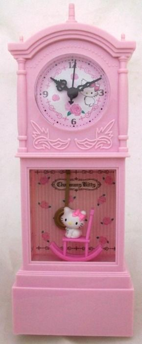 Yes, yes, yes......I am a Hello Kitty freak! But I love it :D Hello Kitty clock