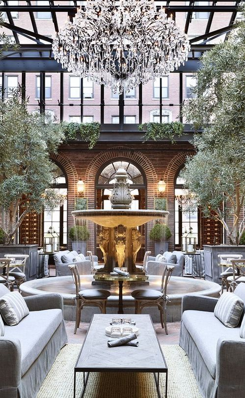 3 Arts Club Café: Restoration Hardware like you've never seen (or tasted) it before. #BAcityguides