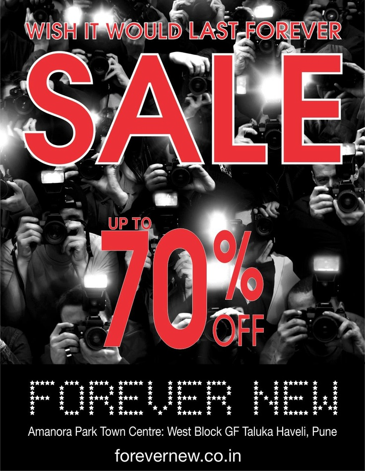 End of Season sale at Forever New - Amanora Town Centre