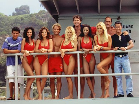 90s tv list Baywatch...yes i watched...dont judge.