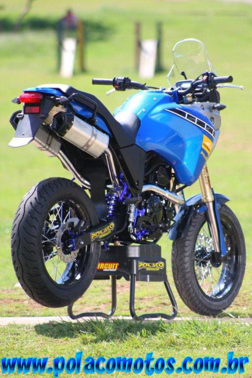 Yamaha XTZ 250 tenere supermotard | Polaco Motos ...