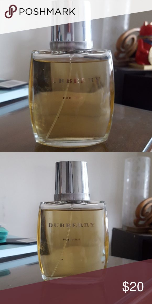 Burberry for Men Cologne 3.3 fl oz... used roughly 5 times; boyfriend doesn't like the scent. Burberry Other