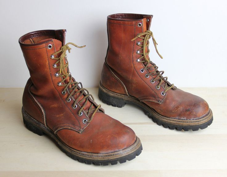 Vintage Red Wing Irish Setter Boots Mens Size 8 5 D