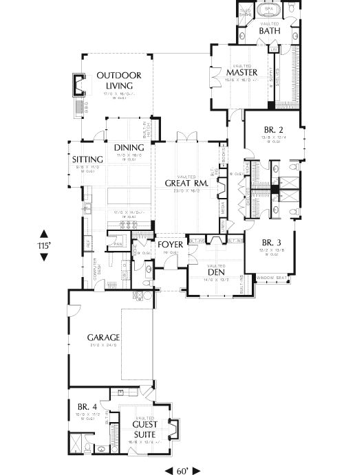 952 Best House Plans Images On Pinterest Floor Plans