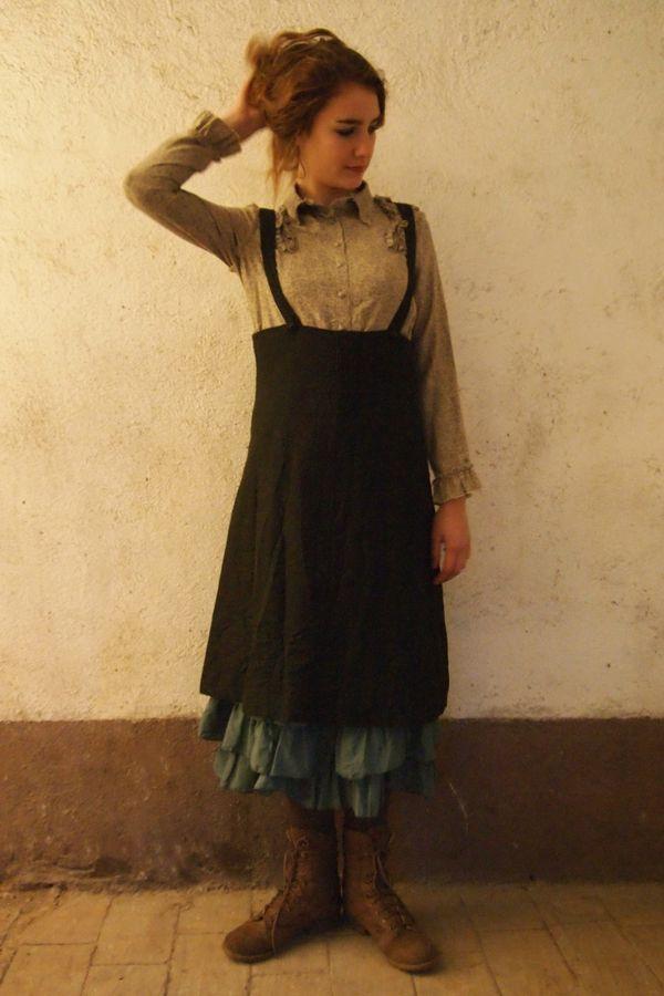 Mellie D Skirt Boots 110