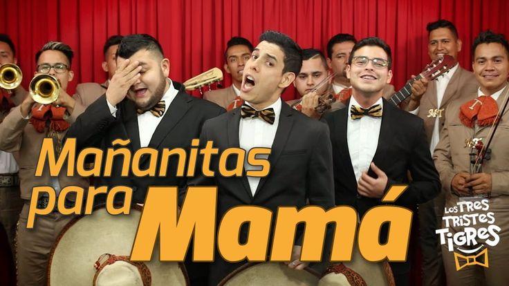 """Mañanitas para Mamá"" ~ Los Tres Tristes Tigres ◘ ♫ ♪ ♫ VideoClip▶"