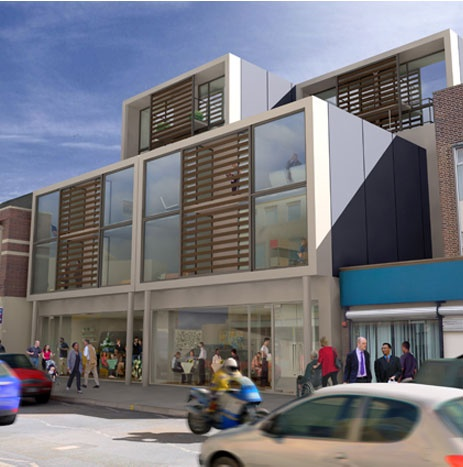 124 Deptford High Street   (artist's impression)  nearing completion