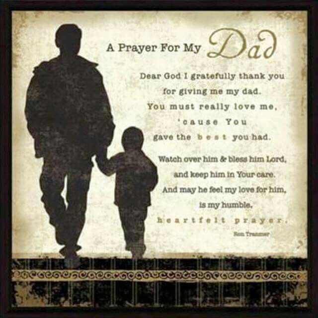 As we honor our fathers today lets not forget our ALMIGHTY HEAVENLY FATHER, with...