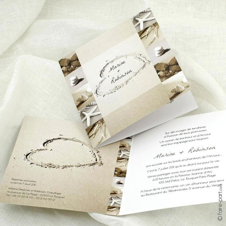 1000 id es sur le th me invitations de plage sur pinterest invitations un mariage la mer. Black Bedroom Furniture Sets. Home Design Ideas