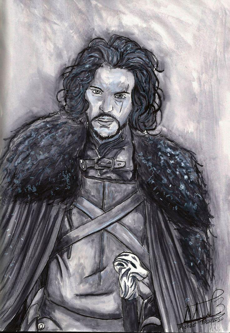 Jon Snow (Juego de Tronos) by Barvo on DeviantArt