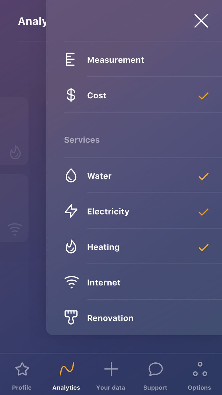 Settings screen #mobile #app