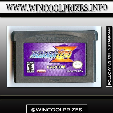 Nintendo - Game Boy Advance - Megaman Zero ~ Signup for a free account and win thousands of your favorite Nintendo Game Boy Advance at www.wincoolprizes.info also, follow us on instagram at wincoolprizes for daily updates!