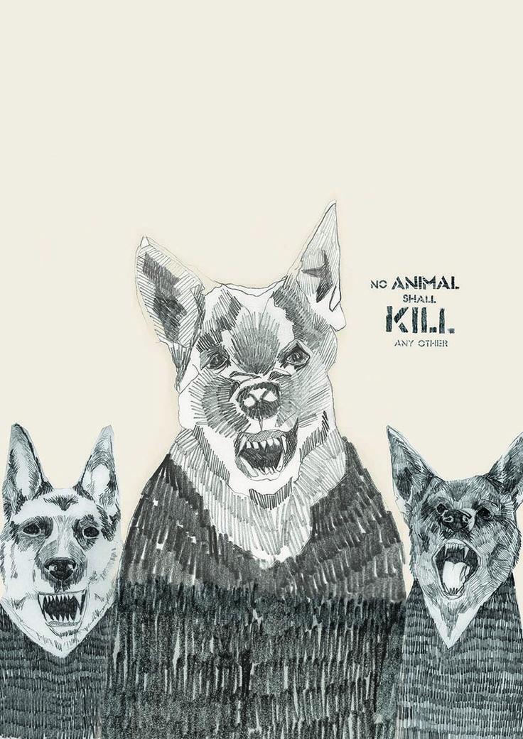 Animal Farm - Dogs - Final Image