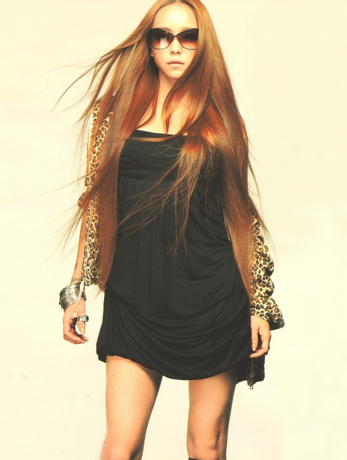 Namie Amuro - I envy her beautiful hair