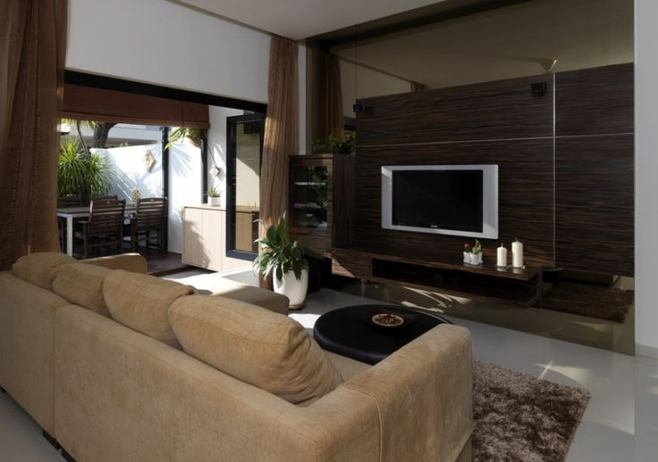 Interior design for Singapore homes  This living room is the product of our  interior designer for a landed property  Click image to view other ren. Interior design for Singapore homes  This living room is the