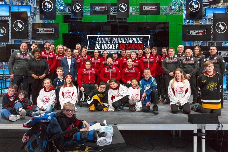 SEVENTEEN PLAYERS NOMINATED TO CANADA'S PARA ICE HOCKEY TEAM FOR 2018 PARALYMPIC WINTER GAMES. 2018 Para Ice Hockey Team for PyeongChang