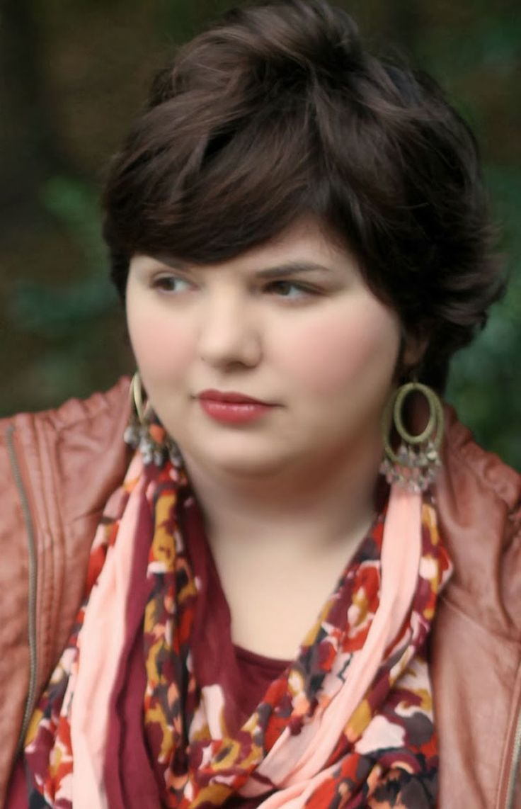 the best short hairstyles for plus size women  short