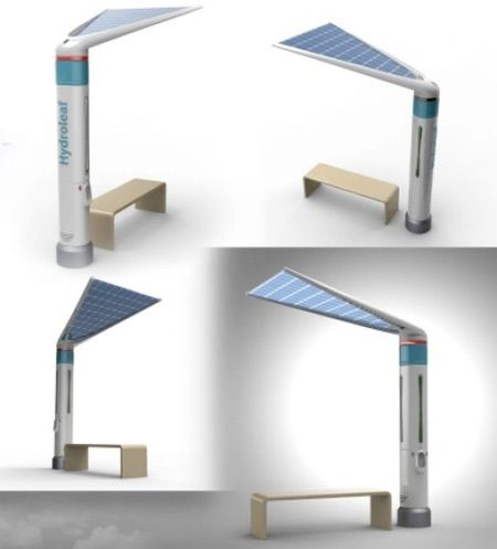 Un'idea molto interessante che riesce a sfruttare contemporaneamente l'energia solare e i sistemi di raccolta e depurazione dell'acqua piovana