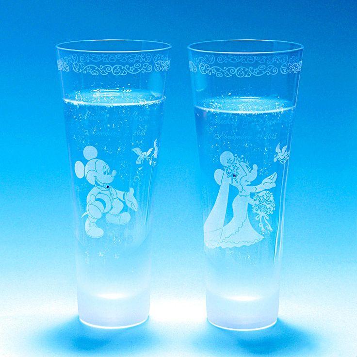 【公式】ディズニーストア グラス ミッキー&ミニー ウェディング:  ディズニーグッズ・ギフトの公式通販サイトDisneystore