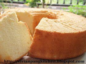 Vivian Pang Kitchen: Yogurt Chiffon Cake