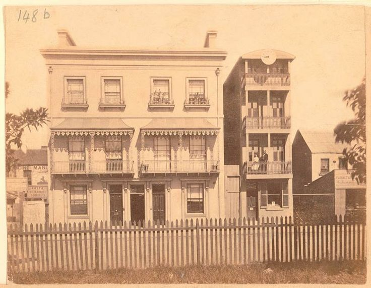 Elizabeth Street between Bathurst and Liverpool Streets, c 1873, State Library NSW.