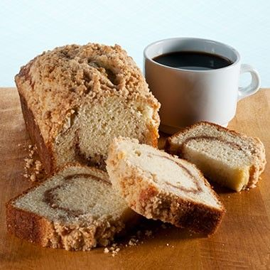 Coffee Cake Muffin Loaf :: Gingerbread Construction Company
